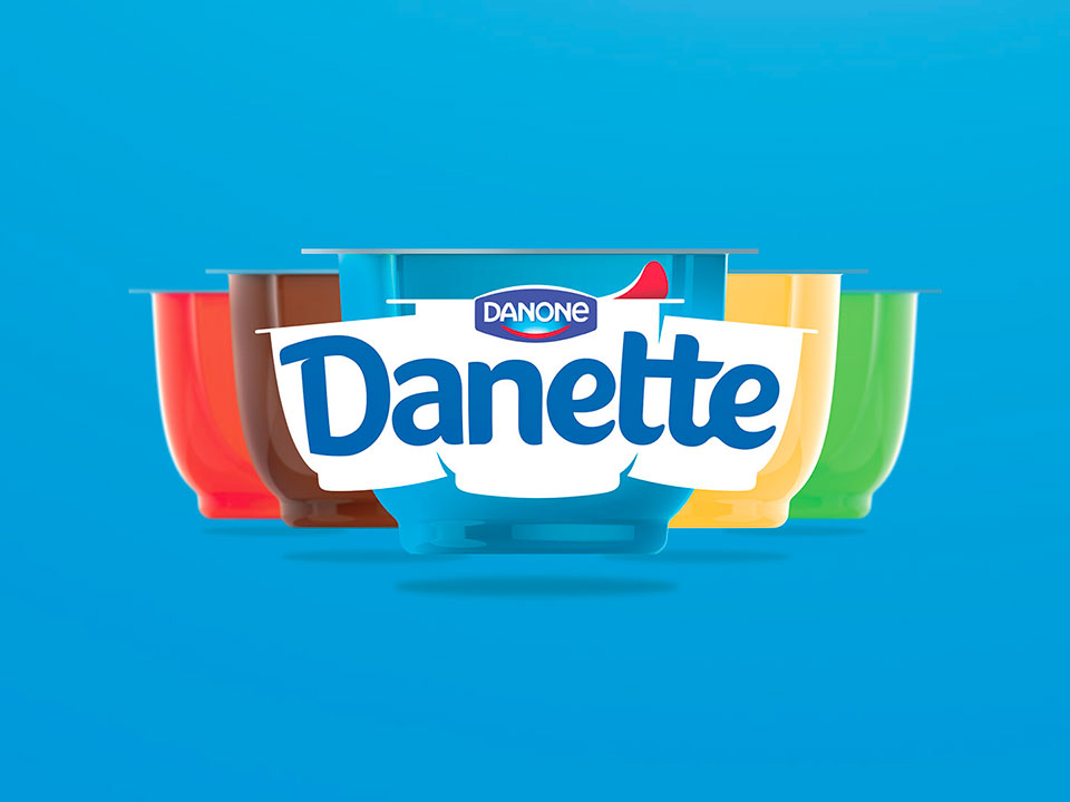 Danette - Makeover in the Dairy Aisle