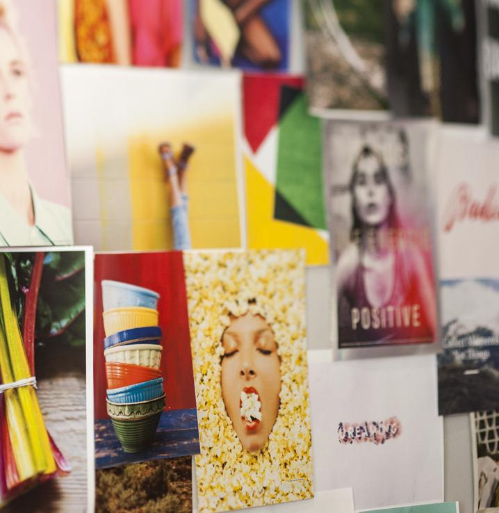 visuel représentant des affiches créatives et designs #branding