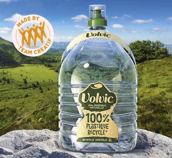 bouteille Volvic 8 litres