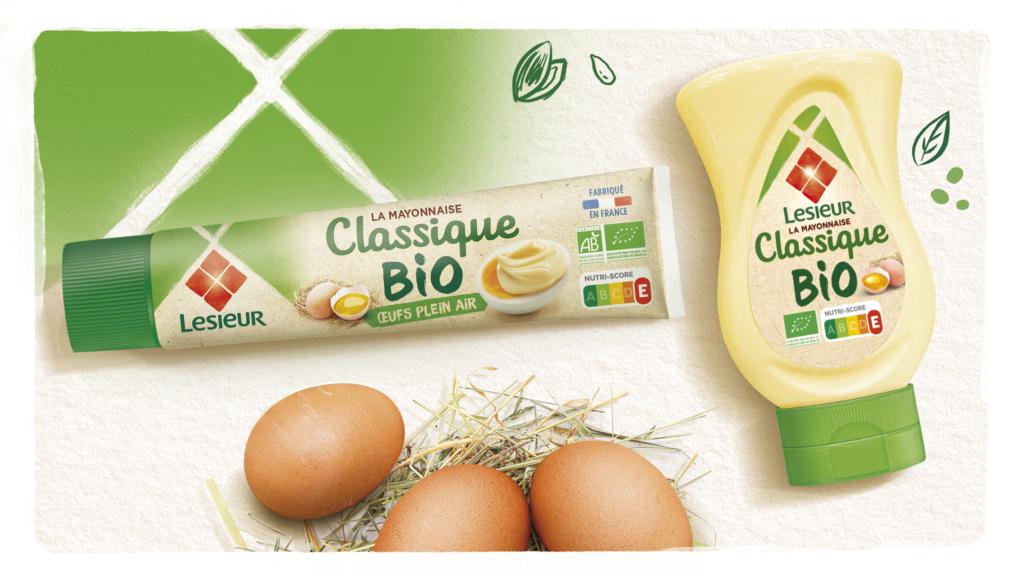 mayonnaise bio Lesieur