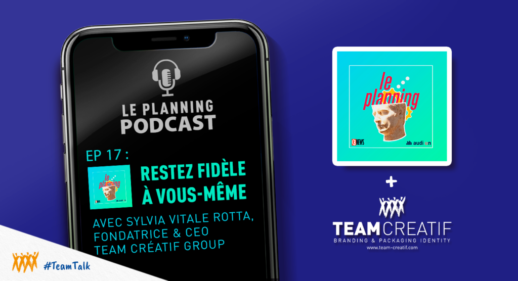 Podcast Team Créatif x Le Planning