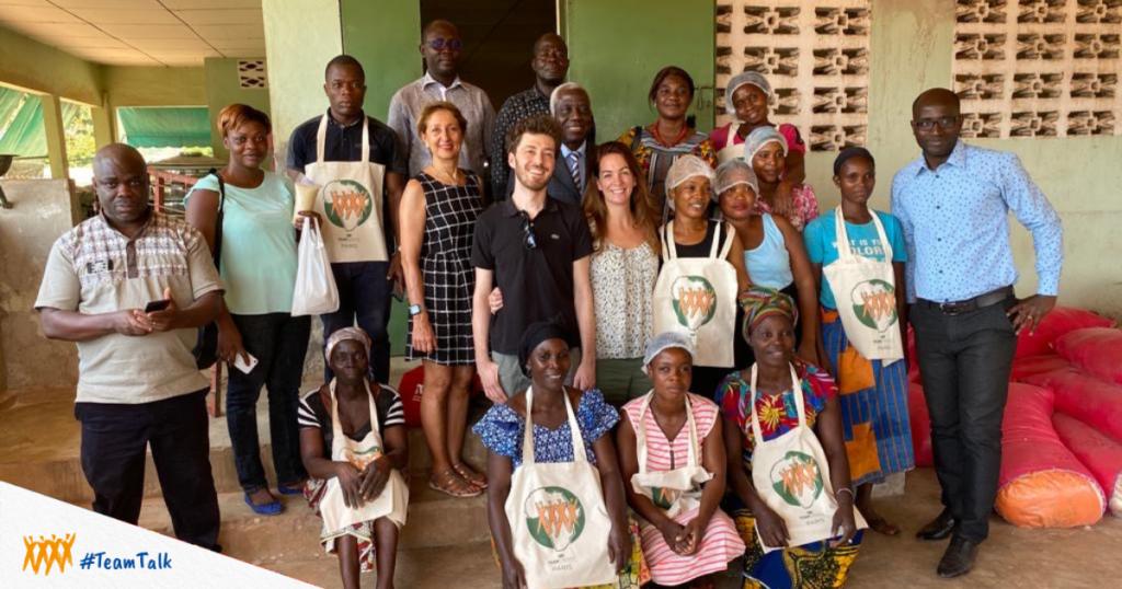 Team Créatif en Afrique