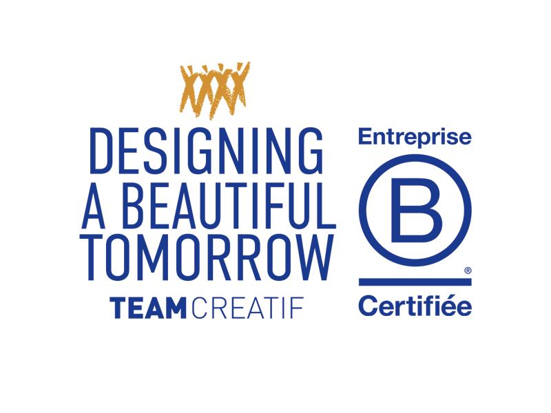 Team Créatif est certifié BCorp