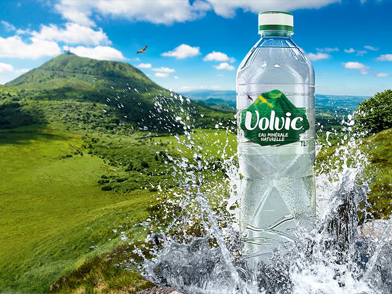 Bouteille d'eau Volvic