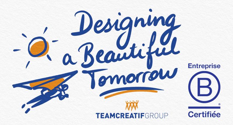 Certification BCORP pour Team Creatif Group