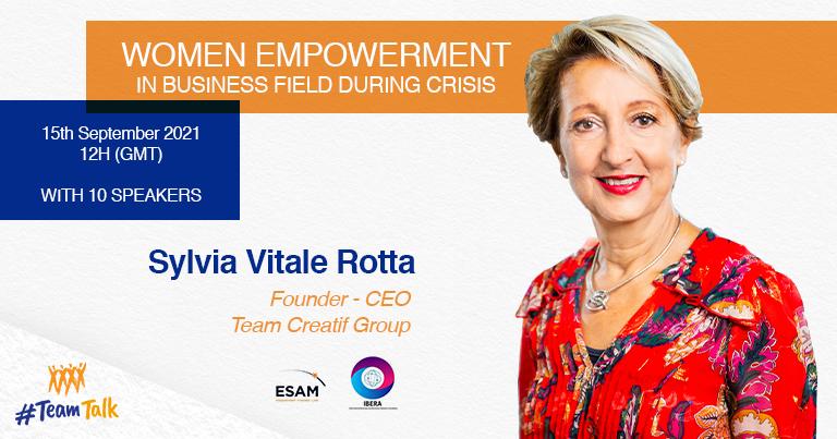 Participation Sylvia Vitale Rotta webinar Women Empowerment